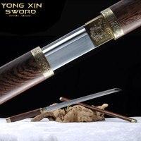 Katana Espada Samurai Japonesa Carbon Steel Espada Katana Samurai Handmade Alloy Tsuba Katana Sword Decorative sword