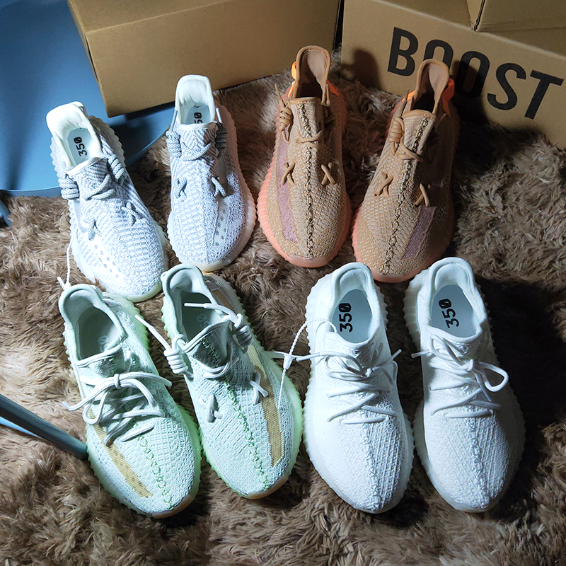 Prova Perfetto Luxury Flat Summer 350V2 Woman Sneakers Breathable Light Fashion Lace-up Classcis Glowing Summer Sneakers Woman(China)