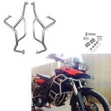 цена на Stainless Steel Upper Engine Guard Crash Bar Bumper Protection for BMW F800GS F700GS F 800GS 700GS 2013 2014 2015 2016 2017 2018