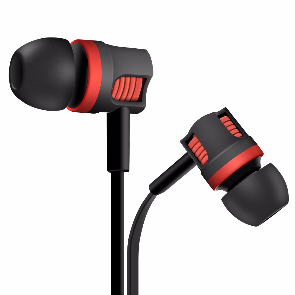 Brand PU26 Earphone In-ear Super Bass Headset with Microphone Earbuds for Mobile Phone xiaomi fone de ouvido original xiaomi xiomi mi hybrid earphone 1more design in ear multi unit piston headset hifi for smart mobile phone fon de ouvido