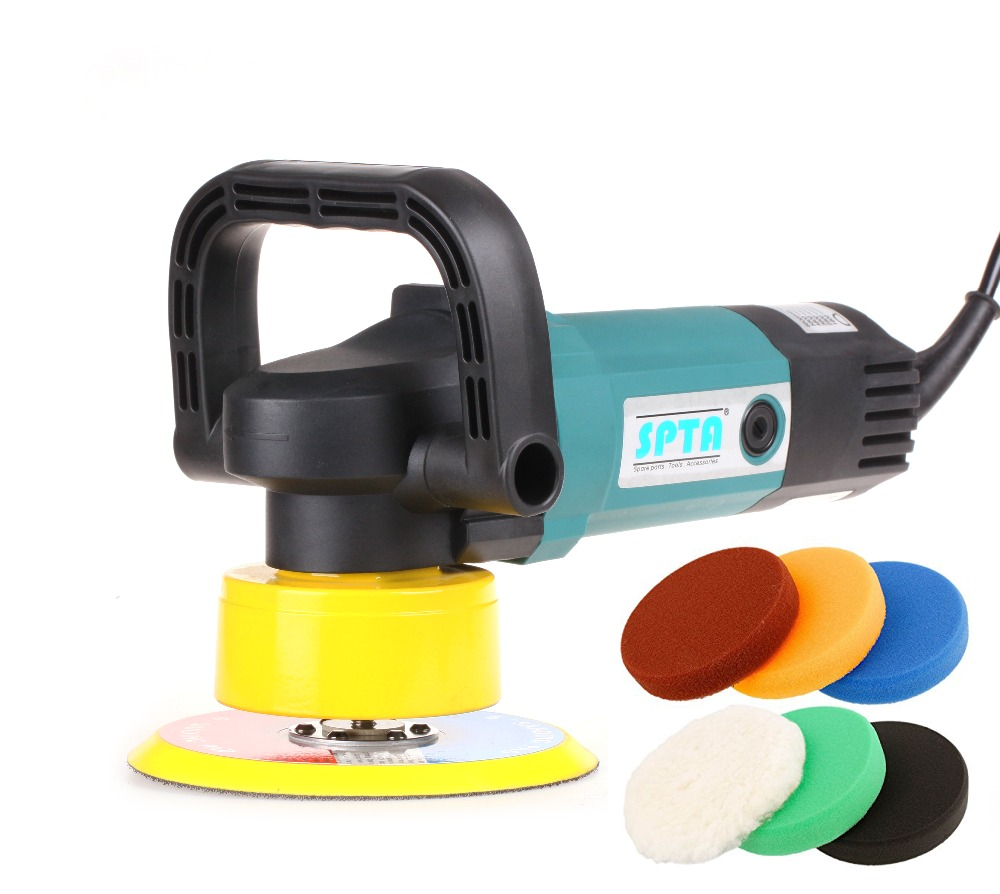 Dual Action Polishing Machine Car Polisher Electric 220V 50Hz Input Power 900w GS CE EMC Backing Plate size 150mm Polishing Pad 900w car polisher tool at good price gs ce emc certified and export quality