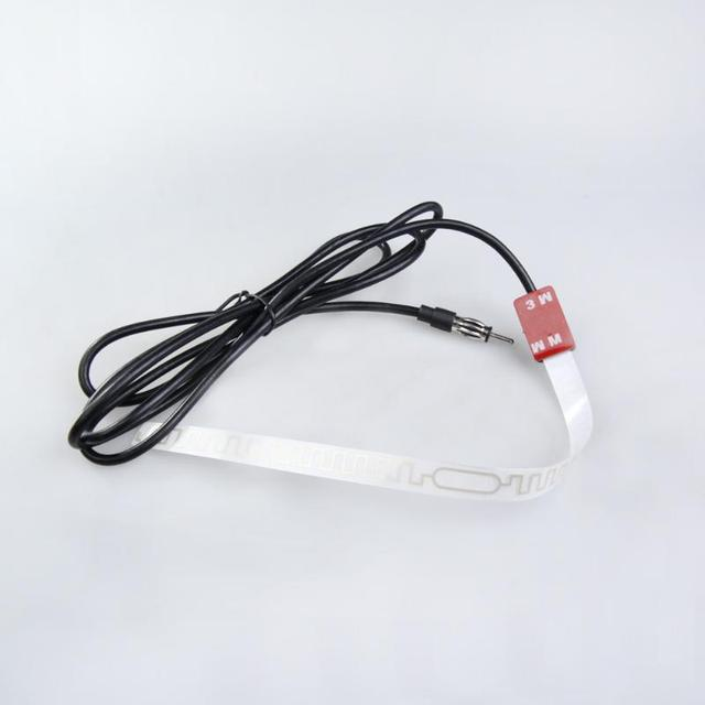 AM/FM Car Internal Mount Amplifier Aerial Antenna for Vehicle Glass Screen Radio Reception Signal Strengthing Amplifier New