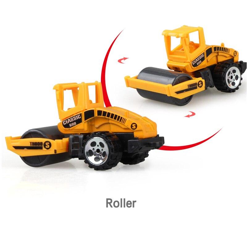 Литая под давлением сельскохозяйственная техника мини-модель автомобиля Инженерная модель автомобиля трактор инженерный автомобиль трактор игрушки модель для детей Рождественский подарок - Цвет: Roller