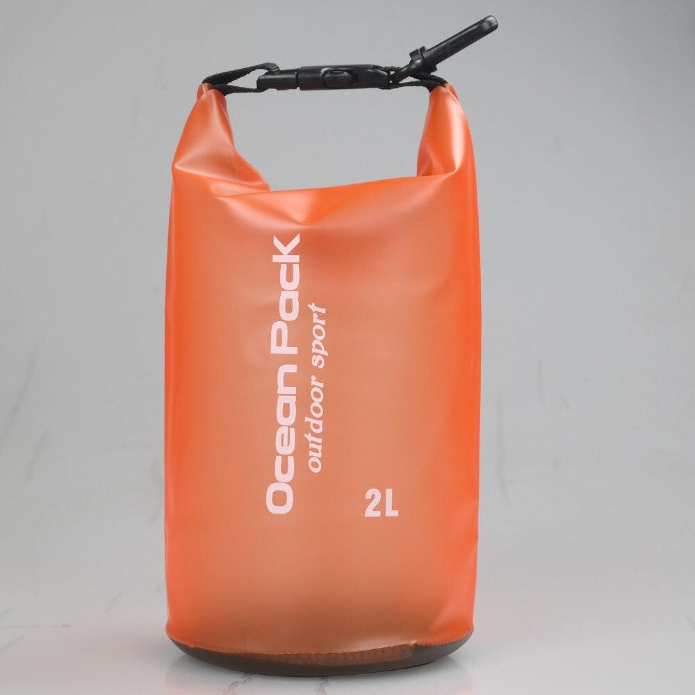 High Quality PVC Waterproof Dry Bag Outdoor Sport Swimming Rafting Kayaking Sailing Storage Bag Portable Durable