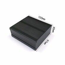 Aluminum alloy Instrument shell electric enclosure box DIY 97X40X100mm  NEW