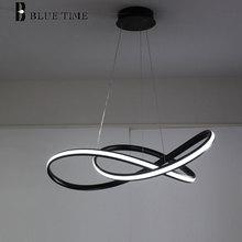 Современные светодиодный Люстра для гостиной столовой Спальня светильник Дизайн творческий светодиодный Люстра Светильники повесить лампа