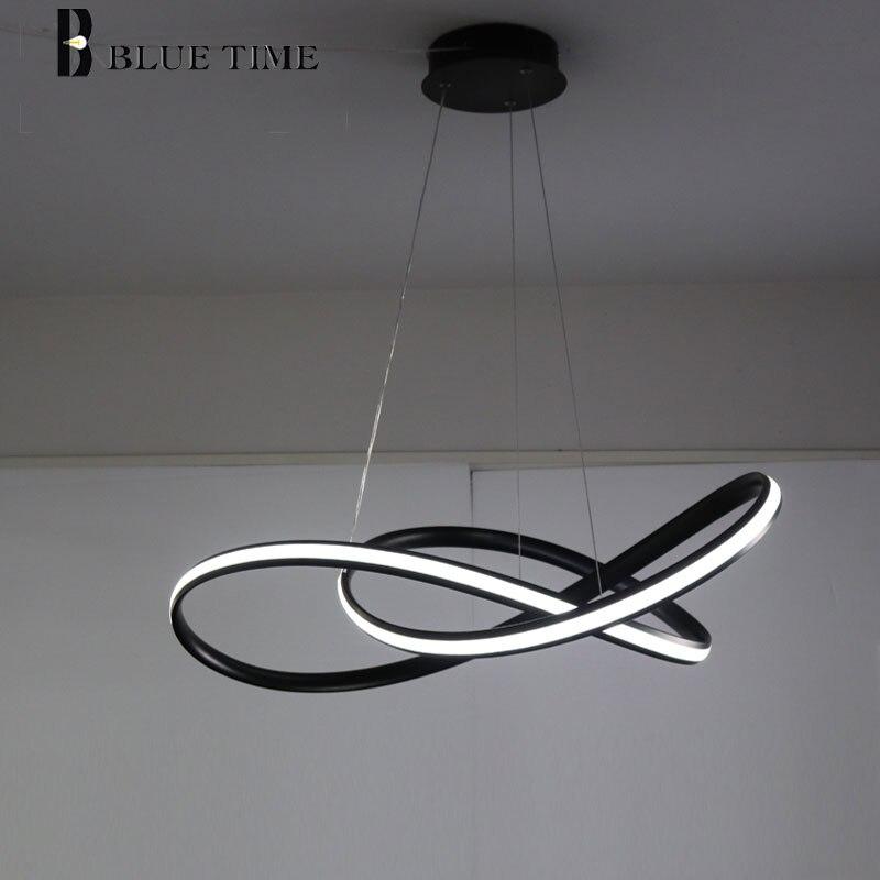 Modern LED Lustre Para sala de estar sala de Jantar Quarto Luminária Design Criativo Led Iluminação Lustre Luminárias Pendurar Lâmpada