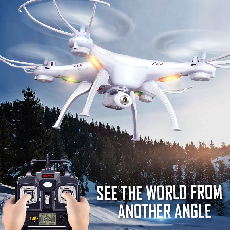 2016 Hot Sale SYMA X5SC (X5S Upgrade) 2.4G Remote  RC Quadcopter Drone with HD Camera Helicopter Toys shock resistant aircraft