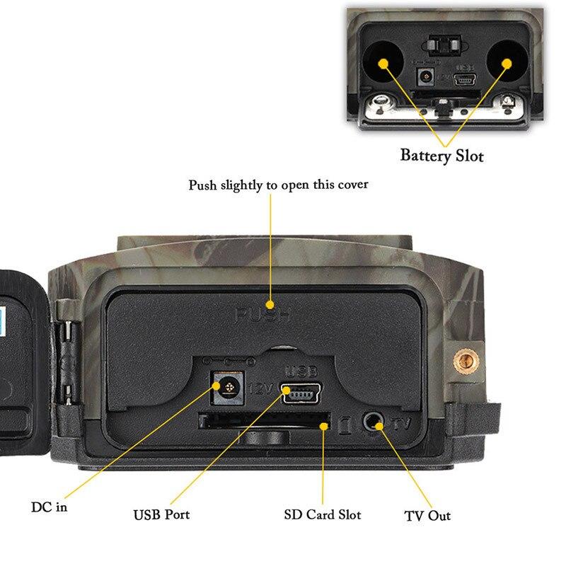 Skatolly S680M 940NM 12MP HD 1080P Hunting Camera 2.0 LCD Trail Camera With MMS GPRS SMTP GSM Infrared Hunting Camera