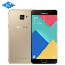 Новый оригинальный Samsung Galaxy A5 A5100 2016 мобильный телефон 5.2 »Dual SIM MSM8939 Octa core 2 г Оперативная память 16 г Встроенная память 13.0MP 4 г LTE Android 5.1
