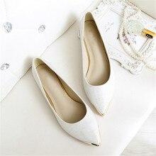 Женщины shinning Плоские Туфли Slip On zapatos mujer Мелкой Рот Плоские Туфли sapato feminino плоские блестки обувь Большой Размер 34-44