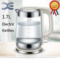 High Quality Water Heater Kettle 1 7L Electric Kettle Automatic Power Off Glass Kettle Wasserkocher