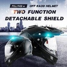 Thh marek motocykl motocross racing kask kaski motocyklowe off road całą twarz moto krzyż kask podwójna tarcza dot tx27 mens
