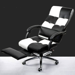 High Quality Ergonomic Executive Office Chair Lying Footrest Computer Chair Lifting Swivel bureaustoel ergonomisch sedie ufficio