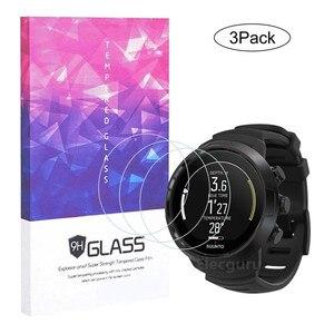 Image 5 - 3Pcs Voor Suunto D5 Dive Computer Smartwatch Gehard Glas Full Screen Protector Clear Anti Kras Anti Shatter beschermende Film