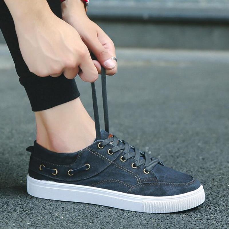 Chaussures Up Black Casual Homme Adulte Lace Hommes Mode gray blue Espadrilles Printemps Confortables Appartements Classique Automne qOd5xAdzwF