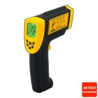 Infrarot laser Berührungslose Digital Thermometer  Infrarot Thermo Thermometer AR872-in Temperaturinstrumente aus Werkzeug bei