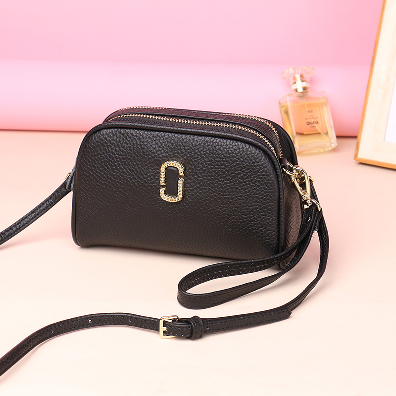 2018 New Genuine Leather Women Messenger Bags Cowhide Crossbody Bag Female Fashion Shoulder Bags for women Clutch Small Handbags women genuine leather handbags ladies personality new head layer cowhide shoulder messenger bags hand rub color female handbags