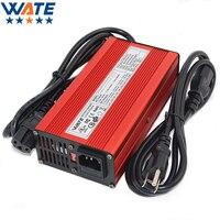 29.2 v 8a carregador 24 v lifepo4 bateria inteligente carregador 8 s escudo de alumínio vermelho com ventilador bateria bloco robô cadeira de rodas elétrica