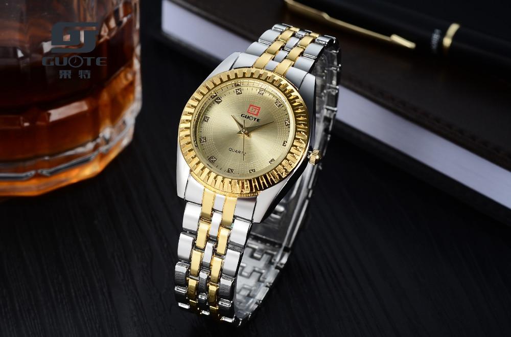 2019 Ny GUOTE Luxury Brand Guld och Silver Elegant Casual Quartz - Damklockor - Foto 4