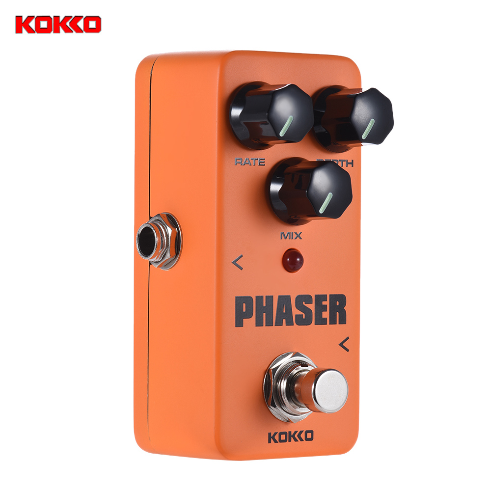 KOKKO FPH2 Mini Analog Phaser Electric Guitar Phase Effect Pedal True Bypass Full Metal Shell
