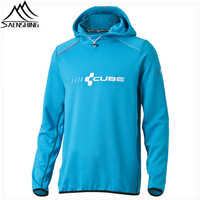 2015 New Cube Bikes Hoody Action Team Blue Sports Hoodies Men Moto Jacket Cycling Sweatshirt After