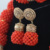 Luxo Original Handmade Coral Frisada Colar Apelativo Set Casamento Nigeriano Africano Contas de Coral Jóias Frete Grátis CNR757