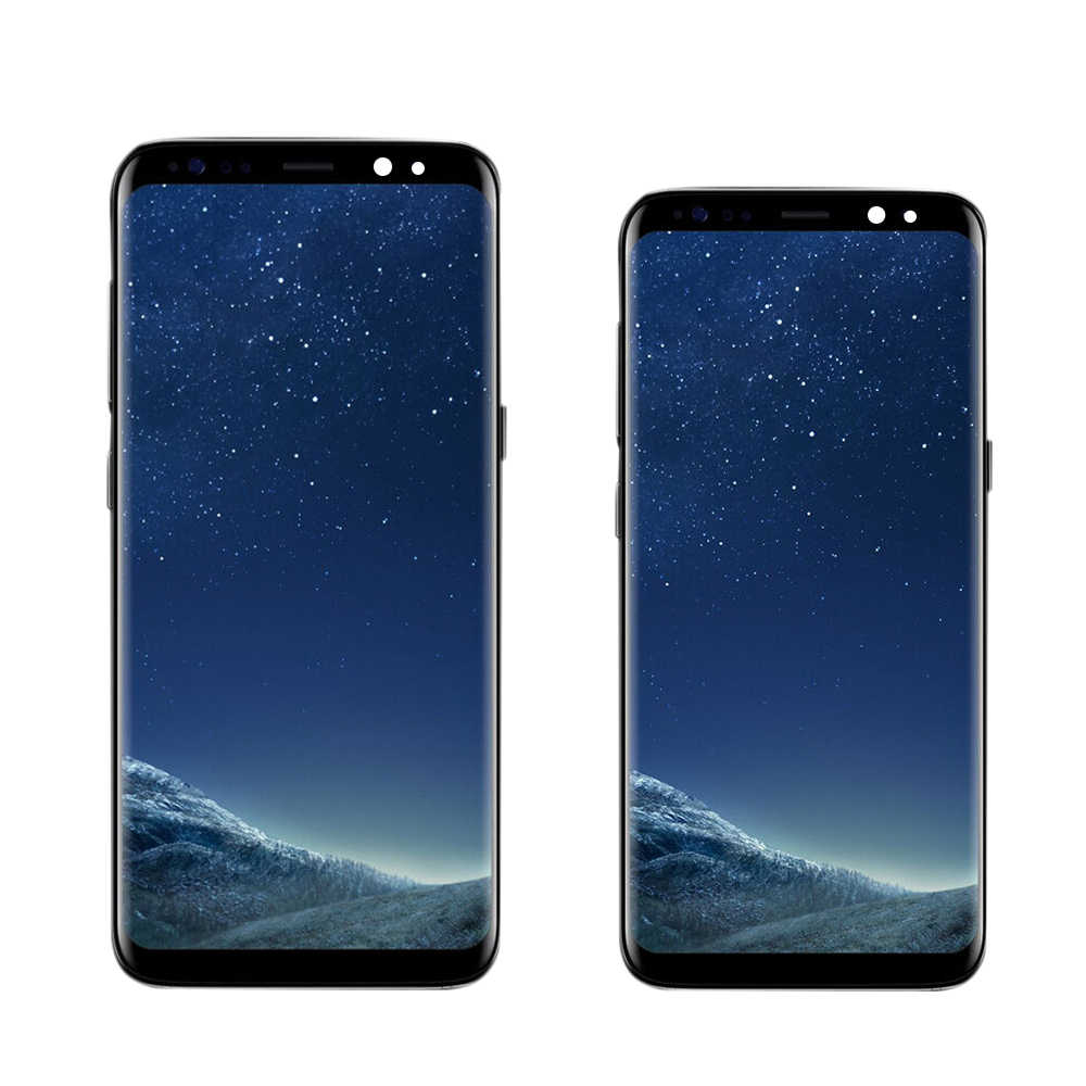 الأصلي شاشات lcd لسامسونج غالاكسي S8 S8 زائد G950 G950F G955fd G955F G955 شاشة الكريستال السائل مع الإطار تعمل باللمس رقمنة