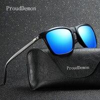 ProudDemon Polarized AluminumTR90 Sunglasses Men Brand Designer Driving Glasses Fashion Women Vintage Sun Glasses For Men UV400