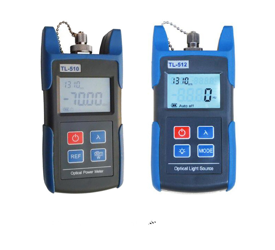 Fiber Optic Tester with Power Meter -50~+26 and Optical Light Source 1310/1550nmFiber Optic Tester with Power Meter -50~+26 and Optical Light Source 1310/1550nm