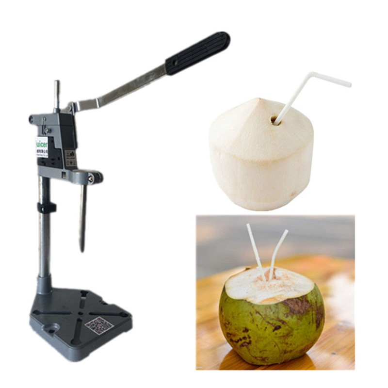 Manual coconut opening machine green coconut opener tool coconut cowboy
