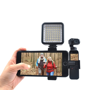 Image 4 - STARTRC OSMO POCKET Metal Phone Clip Holder Kit & LED Lights For DJI Osmo Pocket Mount Stand Accessories kit