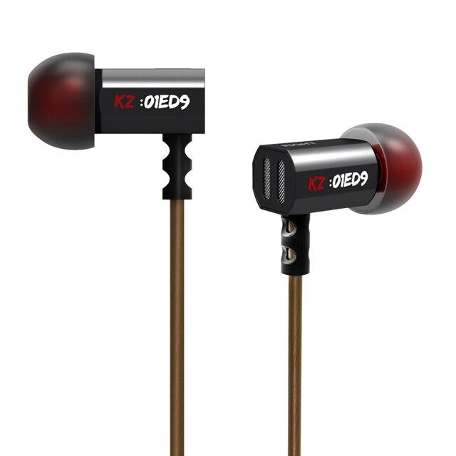 ED9 KZ Super Bowl Ajuste Monitores de Bicos Em fones de Ouvido Fones De Ouvido HiFi Fone de Ouvido Com Microfone Som Transparente Para Ouvir Música