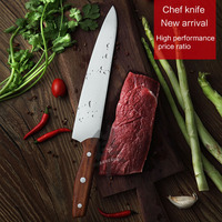 Chef Knives 5cr15MOV Kitchen knives Meat cleaver Fruit plate knife