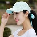 2016 Nueva pelota de tenis deportes de Verano al aire libre de las mujeres masculinas cap crownless sunbonnet del sombrero del sol gorra de béisbol visera B-2280