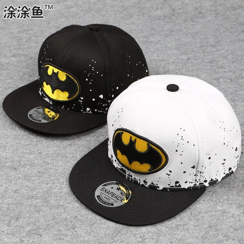 2017 Fashion Kids Cartoon Snapback Caps, Flat Brim child baseball cap, embroidery children brand new hats, Cute Boys Girls hat