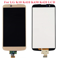 5.3 For LG K10 TV LCD Display Touch Screen With Frame For LG K10 K410 K430 K430DS K420N K410 LCD Digitizer Assembly Replacement