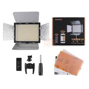 Image 5 - 2 ชิ้น Yongnuo YN300 III YN 300 III 3200 พัน   5500 พัน CRI95 + Pro ไฟ LED สนับสนุน AC อะแดปเตอร์และรีโมทคอนโทรล APP Control