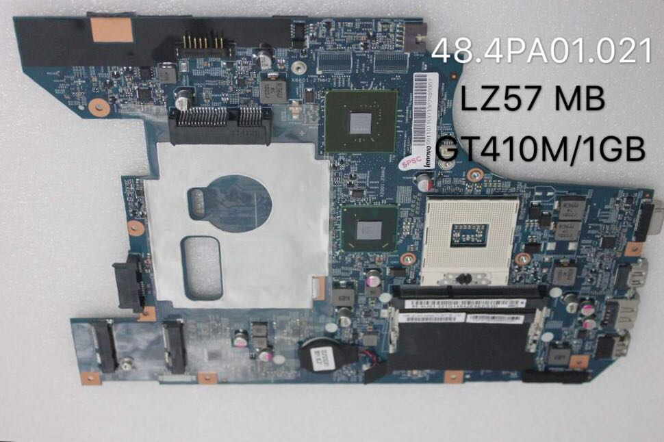 For 48.4PA01.021 LZ57 Para Lenovo Ideapad B570 B570E Laptop Motherboard 11013537 LZ57 HM65 PGA989 DDR3 410 M 1 GB Totalmen...