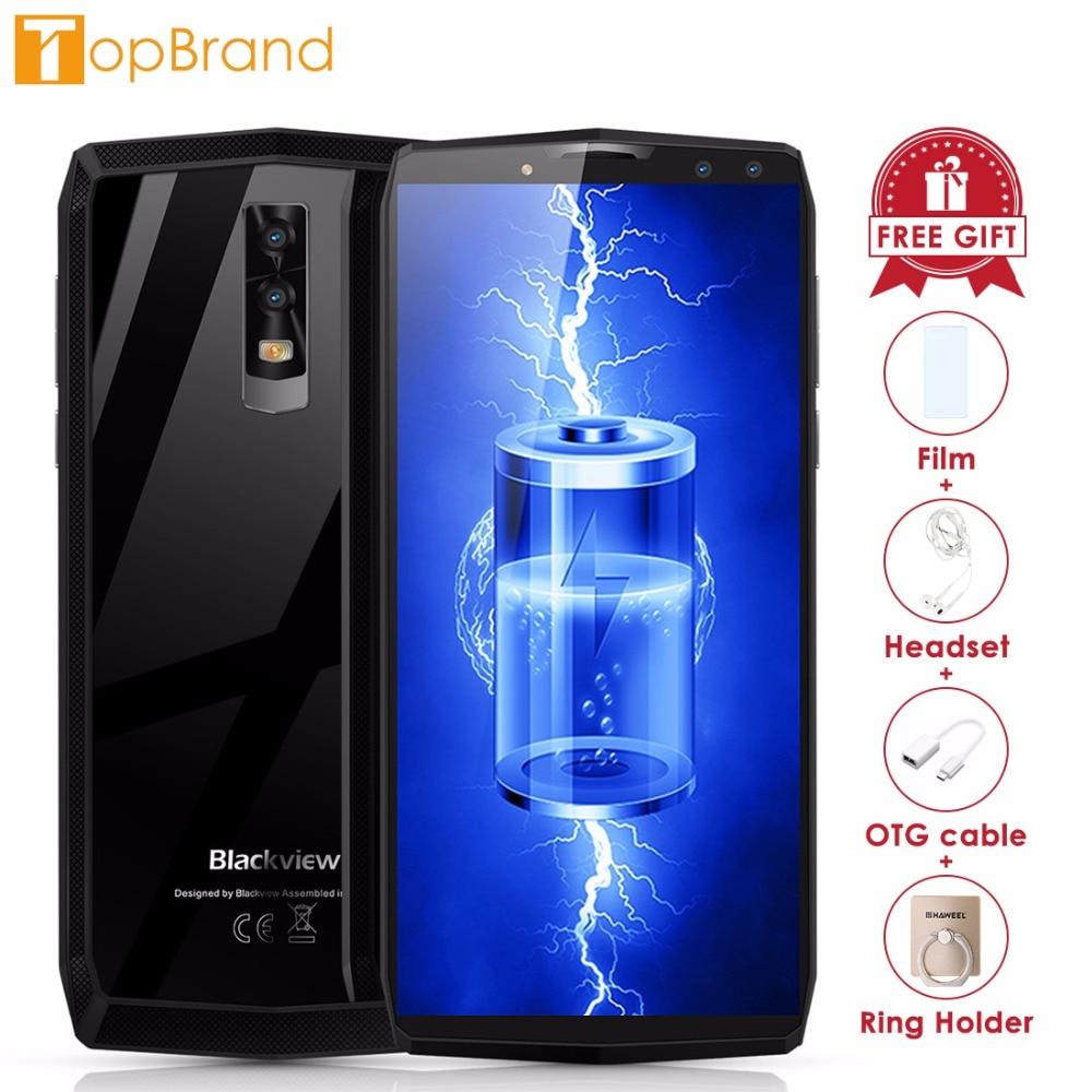 Blackview P10000 Pro Smartphone 5.99 incell FHD MTK6763 Octe base 11000 mah 4 gb 64 gb 16MP Double Arbre à Cames android 7.1 4g Mobile téléphone