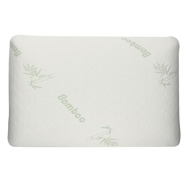office sleeping pillow. comfort antibacteri memory foam massage pillow bamboo fibre neck pillows portable travel office sleeping
