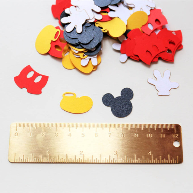 Mickey Mouse Confettis Mickey Souris D Anniversaire Mickey Mouse