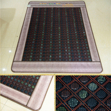 Best Quality+Digital Display ! Tourmaline Mat Physical Therapy Mat Jade Health Care Pad infrared Heat Cushion! Free Shipping