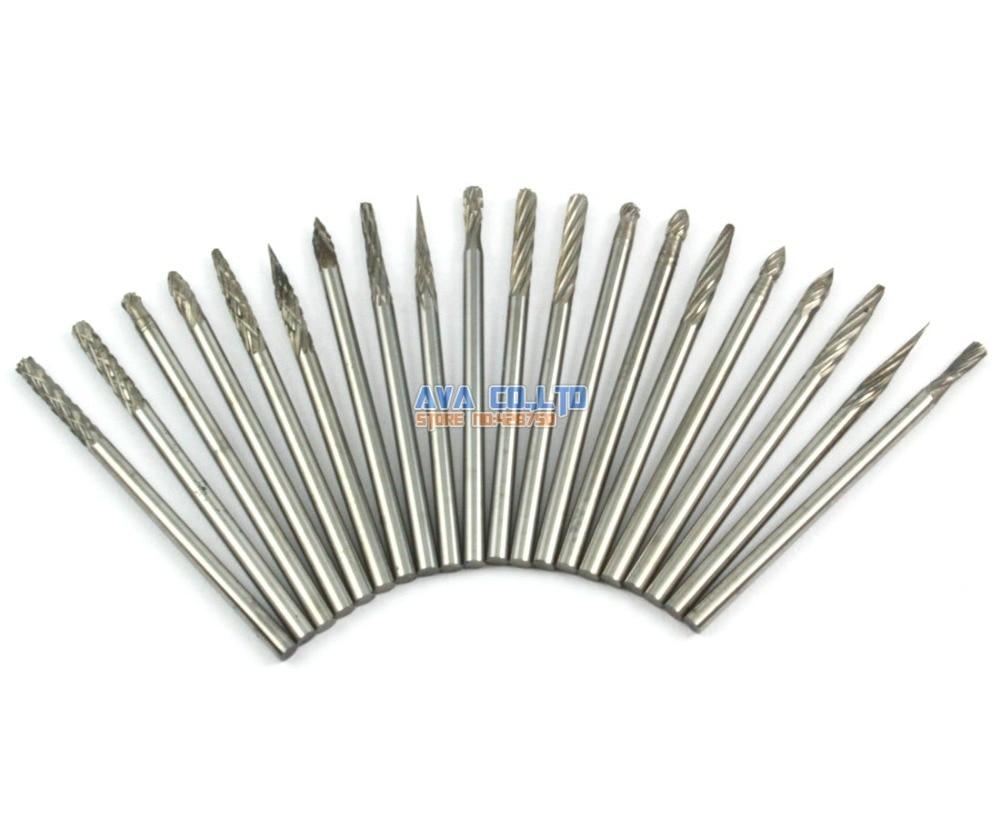 1 Set 20 Pieces 2.35mm Tungsten Carbide Burr Rotary Cutter File 2.35mm Shank1 Set 20 Pieces 2.35mm Tungsten Carbide Burr Rotary Cutter File 2.35mm Shank