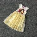 Бесплатная Доставка 8 Шт./лот [4-12] Баер Платье Принцессы Девушки Одеваются