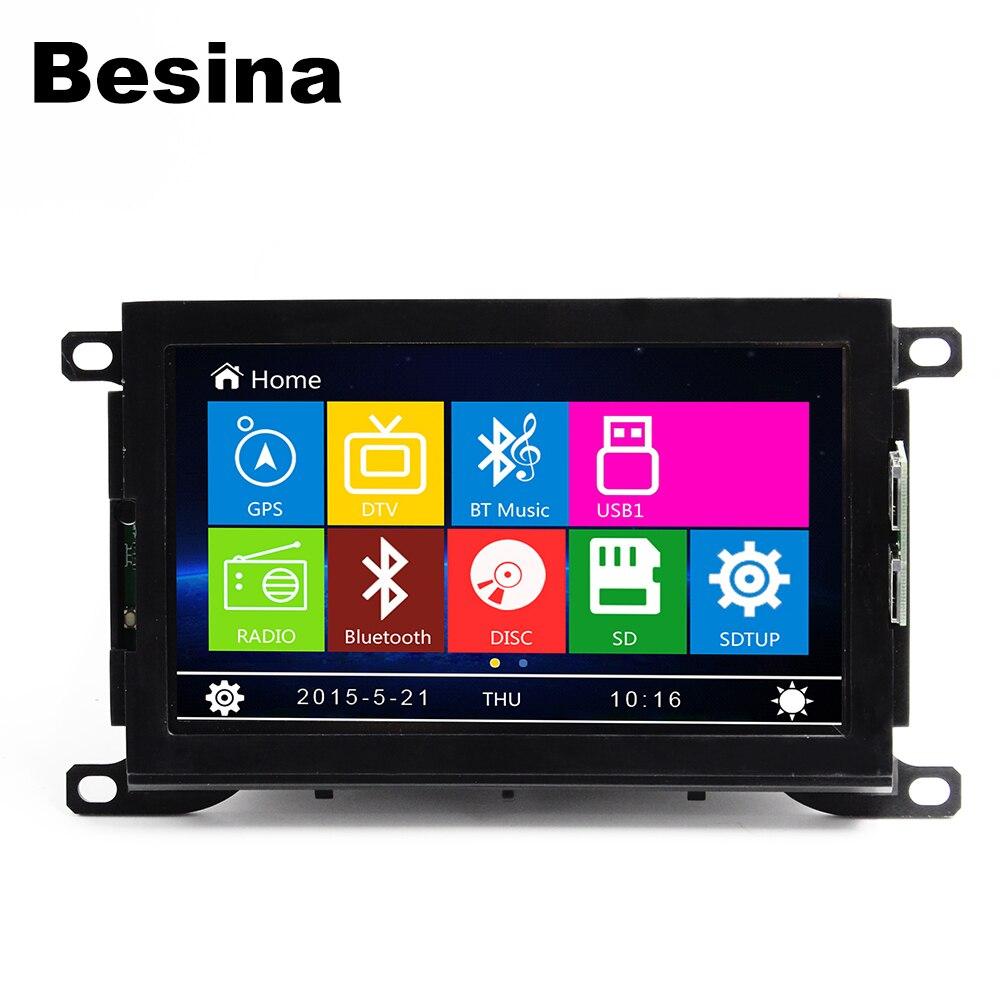 Besina Touch Screen Car dvd Player radio for peugeot 508 multimedia Radio Bluetooth Steering Wheel Control GPS Navigation USB