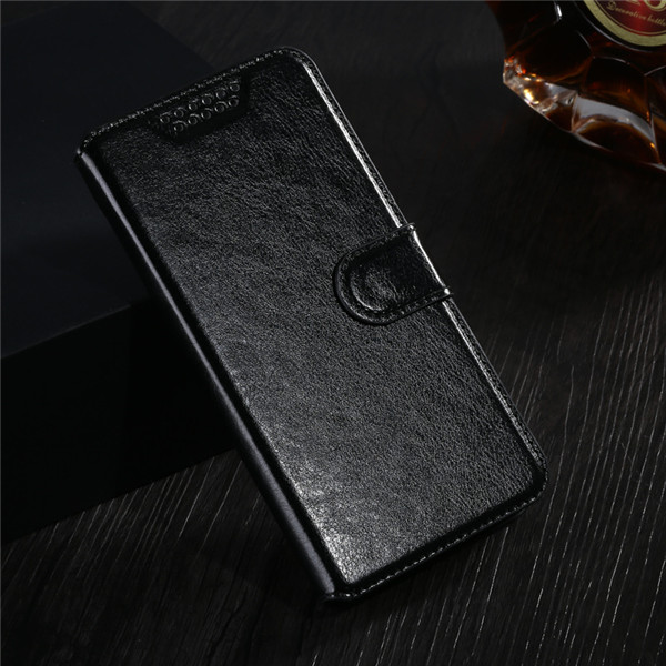 Leather Wallet Flip …