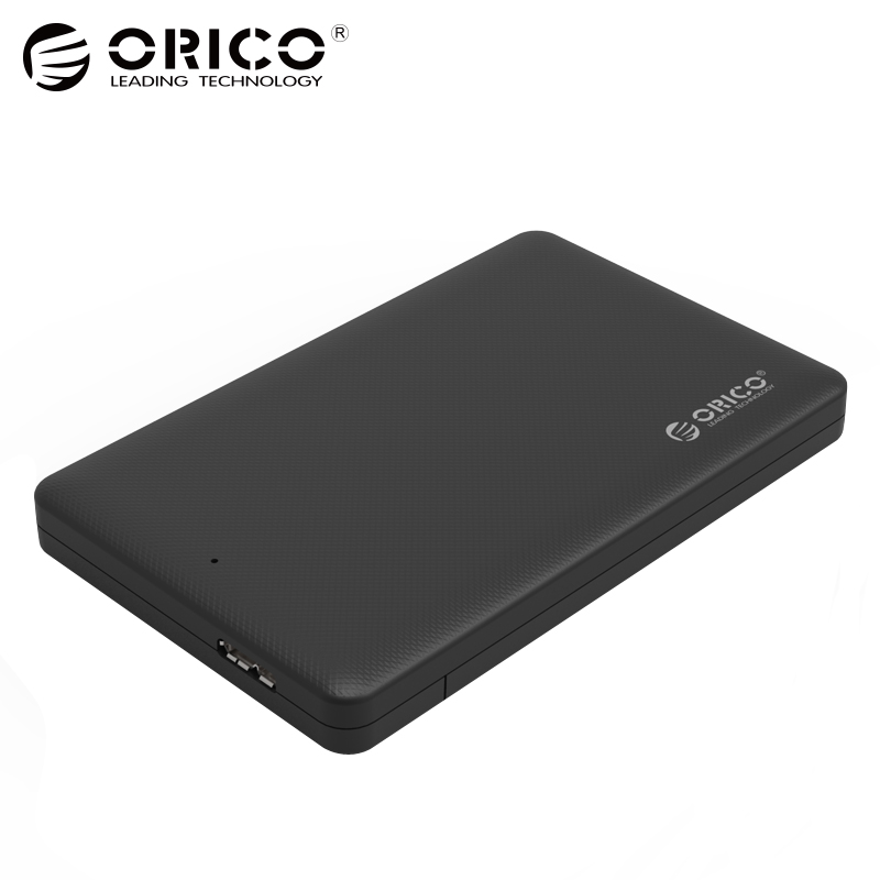 ORICO USB 3.0 2.5 Inch HDD Box Sata to USB External Hard Drive Enclosure Tool Free Super Speed Hard Disk Case For 2.5  HDD SSD 2017 new arrival 2 5 inch usb 3 0 sata hdd enclosure external case box mobile ssd hdd tool for 2 5inch hard disk