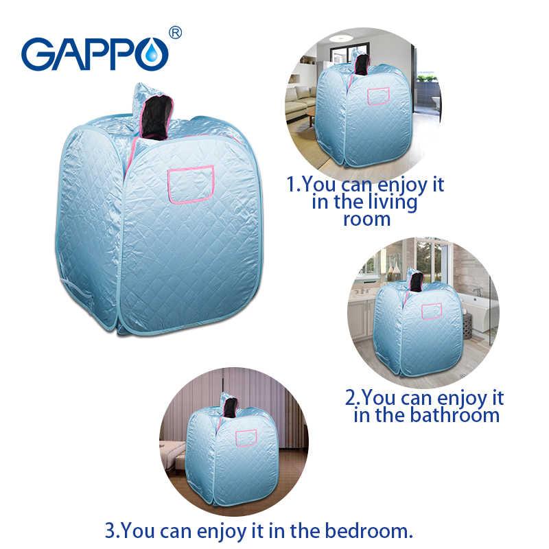 GAPPO Sauna parowa domu saunę Generator odchudzanie gospodarstwa domowego do sauny korzystne dla skóry na podczerwień utrata masy ciała kalorii wanna SPA