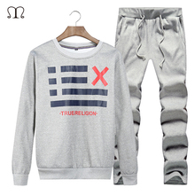 2017 Track suits Men Sudaderas Hombre s Men Track suits With Hat harajuku Print Autumn Winter Thin Tracksuits Tops